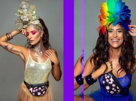 Está com a cabeça no Carnaval? Então confira os tutoriais de dois looks da atriz-gata Maria Joana e arrase na folia