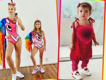 Que criança não ama se fantasiar para o Carnaval? Espia só as produções fofas dos filhos dos famosos