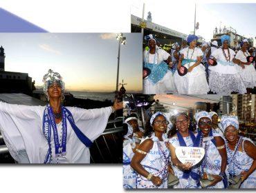 Beleza, representatividade e cultura no Circuito Barra Ondina com o afoxé Filhas de Gandhy
