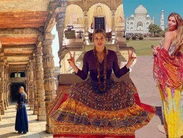 Grazi Massafera mostra como foi sua trip espiritual pela Índia. Adivinha de quem são os cliques?