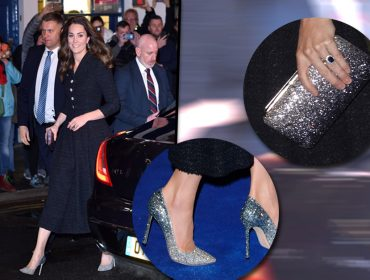 Kate Middleton faz a 'cinderela' ao surgir em evento usando sapato cravejado de cristais… O valor do mimo?