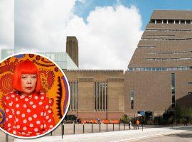 O Tate Modern se prepara para comemorar seus 20 anos com grande exposição de Yayoi Kusama. Saiba tudo!