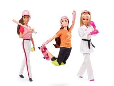 Barbie homenageia mulheres atletas e os novos esportes dos Jogos Olímpicos de Tóquio