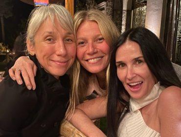 Gwyneth Paltrow arma 'get together' para amigas e pede para todas irem sem maquiagem… Às fotos!