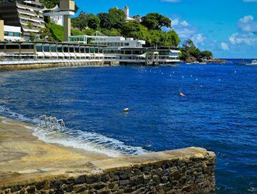 Yacht Clube da Bahia é oásis em meio ao Carnaval e o melhor banho de mar de Salvador