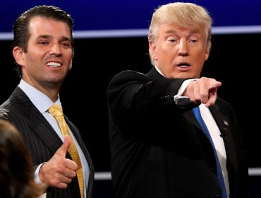 TV americana sugere que filho de Trump pode concorrer à presidência em 2024