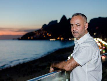Francisco Costa celebra nova marca de skincare sustentável ao lado de amigos famosos