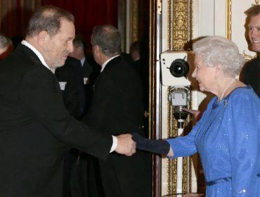 Harvey Weinstein pode perder título nobre que recebeu da rainha Elizabeth II