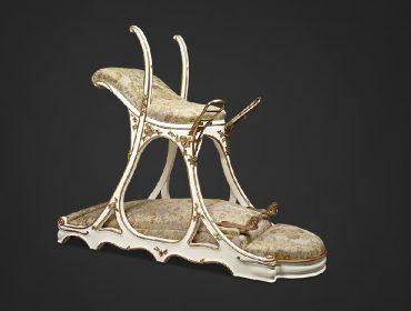 """Famosa """"cadeira do amor"""" que pertenceu a rei inglês está à venda por quase R$ 300 mil"""