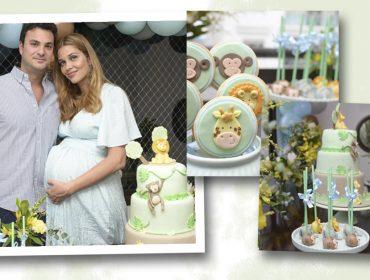 Safári é tema do chá de bebê do segundo filho de Ana Beatriz Barros e Karim El Chiaty. Dá uma espiada!