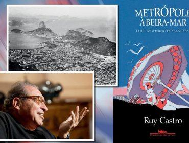 """Ruy Castro fala do livro """"Metrópole à Beira-Mar"""" sobre o Rio de 1920: """"O carioca continua crítico, irônico e perspicaz"""""""