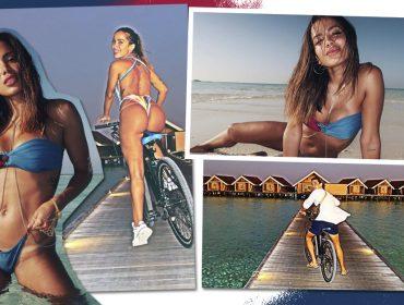 Anitta mantém promessa de muitas férias em 2020 e curte as Maldivas com o novo boy