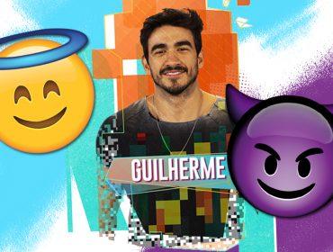 De mocinho do BBB 20 a vilão: famosos reprovam relação tóxica do casal Guilherme e Gabi, e aderem hashtag