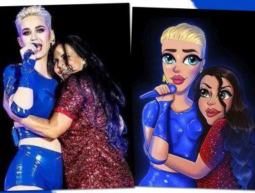 Gretchen e Katy Perry juntas de novo? Cantora brasileira comemora os dois anos do show épico ao lado estrela americana