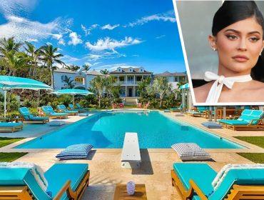 Kylie e Kendall Jenner curtem dias de 'dolce far niente' nas Bahamas em luxuoso château de R$ 67 mil por dia