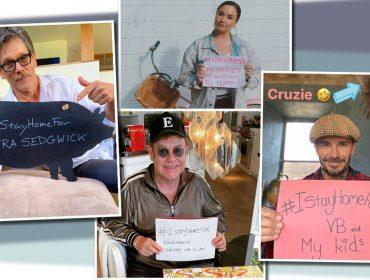 Kevin Bacon reúne celebs como David Beckham e Elton John em desafio de isolamento social