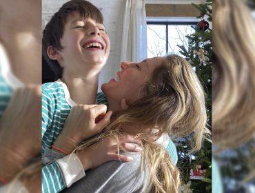 Gisele Bündchen fala sobre consciência do filho Benjamin, de 10 anos, que trocou presentes por doações