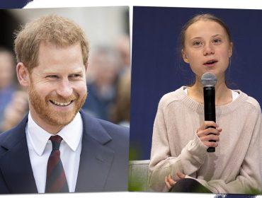 Príncipe Harry caiu em pegadinha de comediantes russos que se passaram por Greta Thunberg
