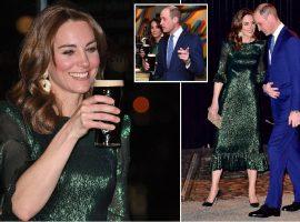 Kate Middleton aposta no verde para agradar os anfitriões em visita oficial na Irlanda. Entenda!