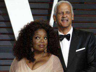 Por medo de contrair Covid-19, Oprah se isola do companheiro dentro da casa que divide com ele