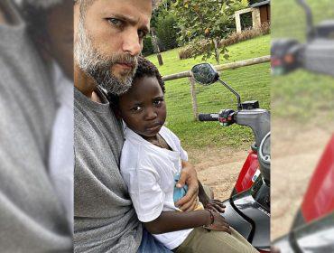 Representatividade: Bruno Gagliasso mostra que o filho Bless já sabe quem são alguns dos principais líderes negros da história
