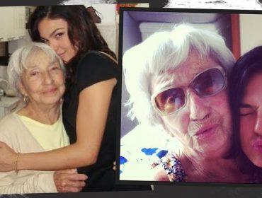 Depois de perder o pai em janeiro deste ano, Isis Valverde lamenta a morte da avó