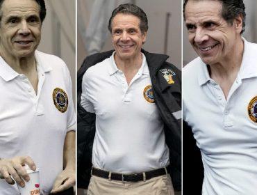 Em plena pandemia, americanos querem saber se governador de Nova York tem piercing no mamilo… Oi?