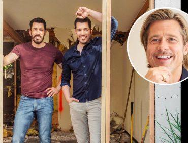 Em novo reality dos 'Irmãos à Obra', Brad Pitt coloca a mão na massa para reformar casa de maquiadora