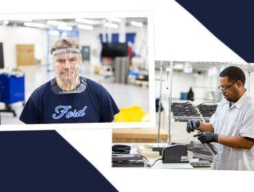 Ford entra na luta contra o coronavírus e vai produzir máscaras de proteção facial
