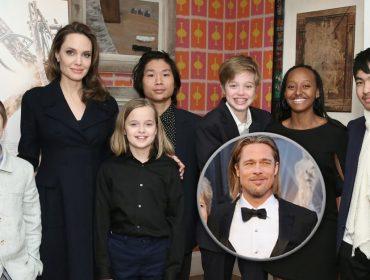 Angelina Jolie está isolada com os seis filhos, mas como fica Brad Pitt? Saiba os detalhes!