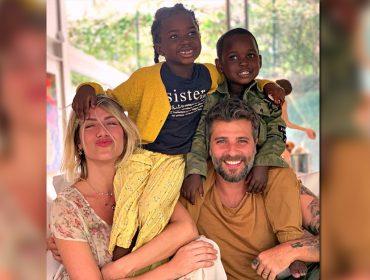 Bless, filho de Giovanna e Bruno Gagliasso, escolhe o melhor nome para o irmãozinho que chega em julho. Quer saber?