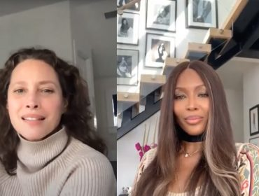 Naomi Campbell e Christy Turlington, duas tops dos anos 1990, revelam quais são suas modelos favoritas atuamente