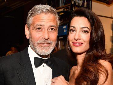 Amal e George Clooney doam R$ 5,1 milhões para ONGs que atuam na luta contra a Covid-19
