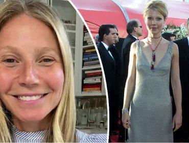 """Gwyneth Paltrow doa vestido que já classificou como """"basiquinho"""" para ser leiloado para a caridade"""