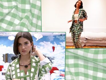 "Look estilo ""toalha de piquenique"" de Manu Gavassi e Bruna Marquezine é made in Brazil e custa R$664,80"