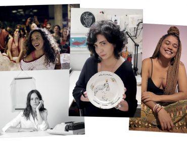 Revista J.P reúne mulheres que mostram que a palavras têm a força… Vem ver!