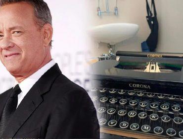 Tom Hanks envia máquina de escrever da marca Corona para garoto que sofre bullying por se chamar… Corona!