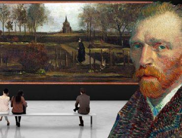 Vídeo mostra que homem usou apenas uma marreta para roubar quadro de Van Gogh avaliado em dezenas de milhões de euros
