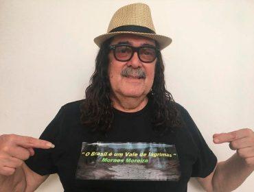 Acabou chorare: Morre aos 72 anos Moraes Moreira, icônico cantor e compositor baiano