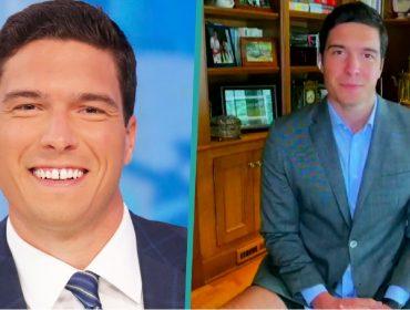 Repórter americano, filho do 'Superman', aparece de bermuda em entrada ao vivo no 'Good Morning America'