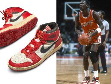 Tênis usado e autografado por Michael Jordan é leiloado pela soma recorde de R$ 3,21 milhões