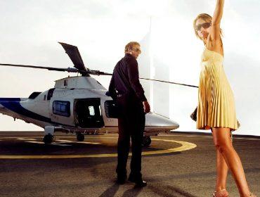 Empresa de táxi aéreo dos EUA vai medir a temperatura e o nível de oxigenação de seus passageiros ricos