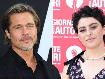 Vizinho das ex Jen Aniston e Angelina Jolie, Brad Pitt só quer saber de comer pizza com uma certa atriz de 30 anos