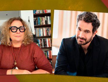 É hoje, às 15h! Joyce Pascowitch e Caco Ciocler em um papo online pra lá de especial