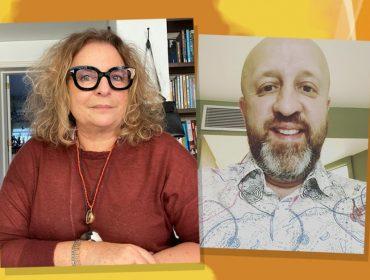 O amor está no ar…Joyce Pascowitch conversa nesta quinta, às 15h, com o escritor Fabrício Carpinejar