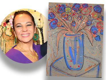 Obra de Isabelle Tuchband em prol do G10 Favelas é vendida em 10 minutos. Aos detalhes!