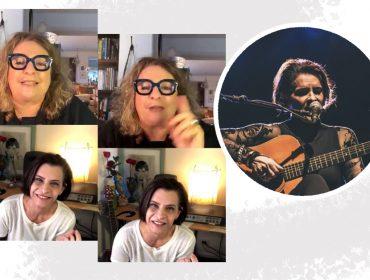 Muita música, conversa boa e propósito na live de Joyce Pascowitch e Marina Lima em benefício do G10 Favelas