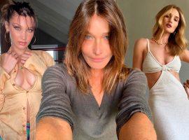 De Bella Hadid a Carla Bruni, conheça modelos que por muito pouco não tomaram outro rumo na vida