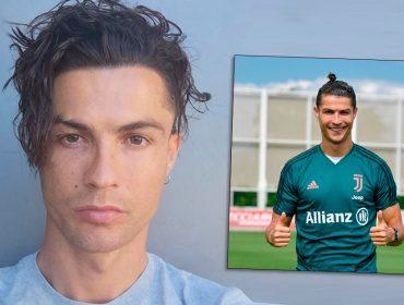 """Cristiano Ronaldo mostra seu novo look em suas redes sociais e é trolado por Cauã Reymond: """"No brow"""""""