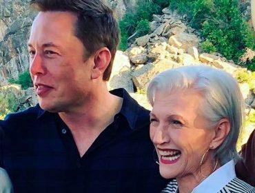 Vovó Maye Musk já arranjou um apelido para o netinho X Æ A-12, filho do bilionário Elon Musk. Saiba qual é
